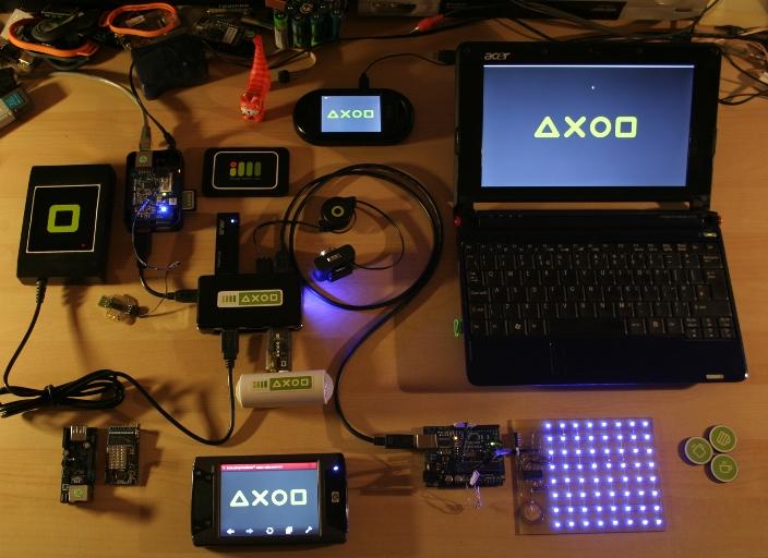 Axod microserver demo
